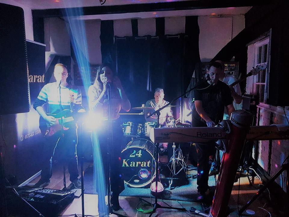 24 Karat Wedding Function Band Live Essex