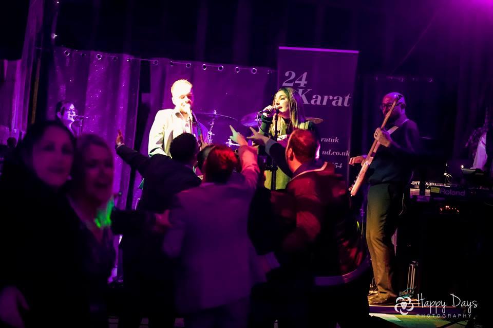 Live Music With Wedding Band 24 Karat Colchester Essex