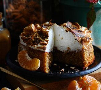 Organic Flourless Orange Cake