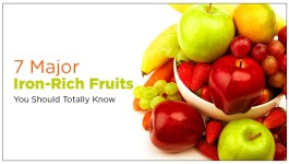 7 Major Iron-Rich Fruits You Should Totally Know