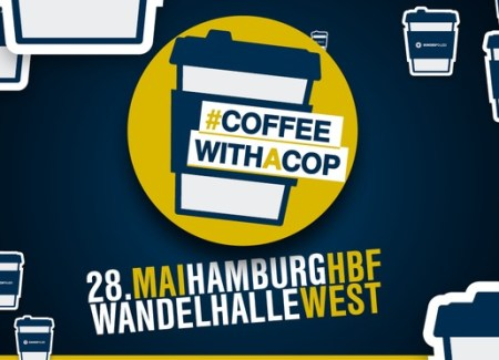 Coffee with a Cop - Foto: © Bundespolizeiinspektion Hamburg