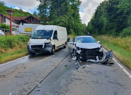 Unfallfoto - Foto: © Polizeidirektion Bad Kreuznach