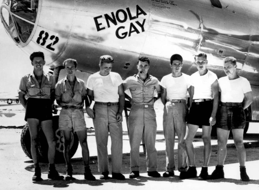Enola Gay crew drops first atomic bomb on Hiroshima | Autor: Profimedia