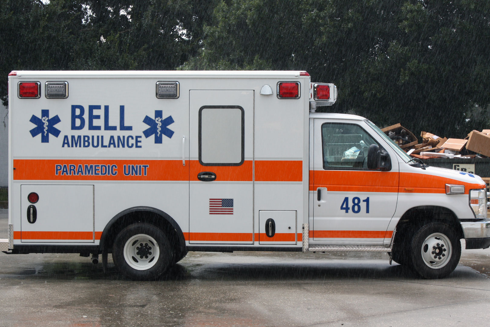Bell Ambulance By 24Seven Graphic Design & Supply, Inc.