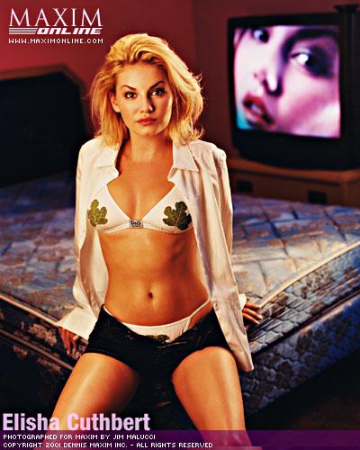 Elisha Cuthbert Compares 24 To The Flinstones In Maxim