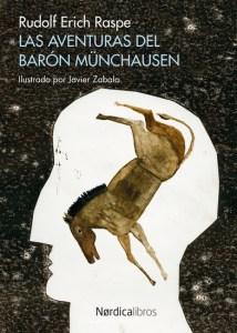 Edición ilustrada de Las aventuras del barón de Münchhausen, de Rudolf Erich Raspe, ya en 24symbols