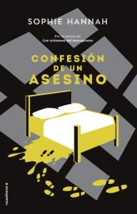 Confesión de un asesino, de Sophie Hannah