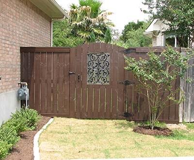 Decorative Gates — Exterior Landscaping