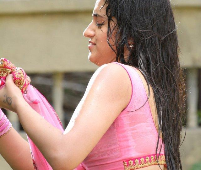 Actress Trisha Krishnan Wet Hot Ultra Hd Photos In Kalavathi Movie