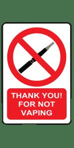 vaping rule