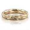 14K Gold Twisted Style Diamond Wedding Band DW101196
