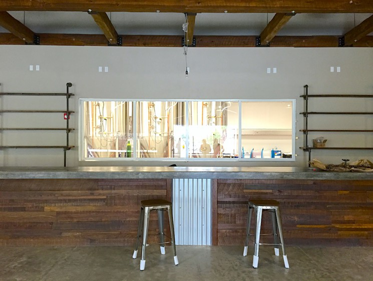 Unfinished Bar