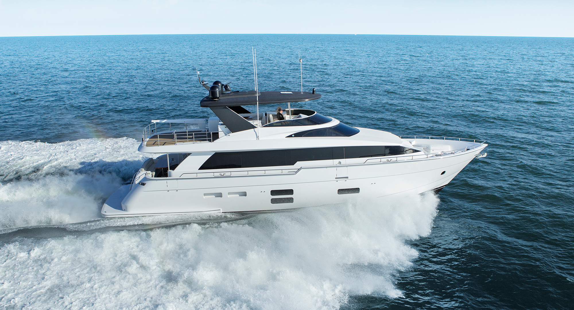 Hatteras 70 Motor Yacht Makes Robb Reports Best Of Best