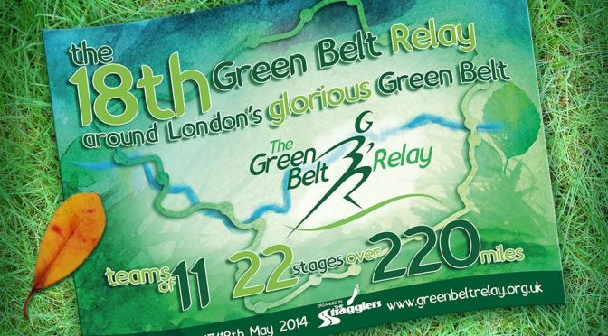 Green Belt Relay 2019 – Sign up