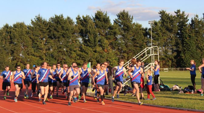 Track Session 7.15 for 7.30pm Wednesday 25 April – Getting ready for the Club Mile