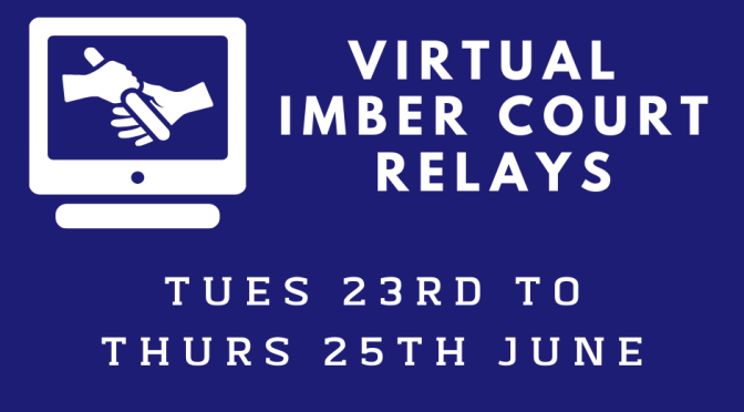 Virtual Imber Court Relays <br/>Tues 23rd – Thurs 25th June