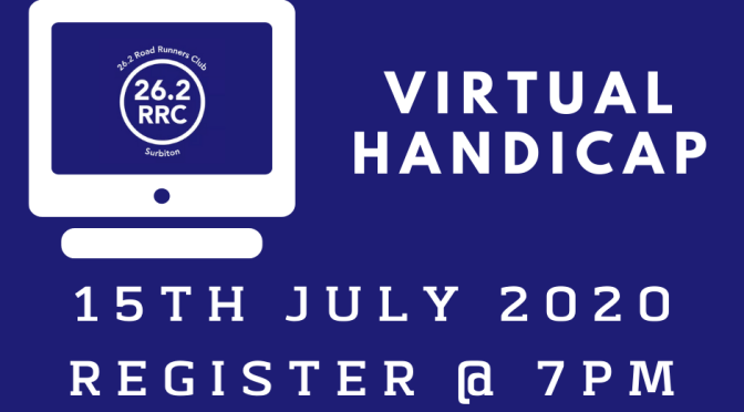 Virtual Handicap – Wednesday 15th July