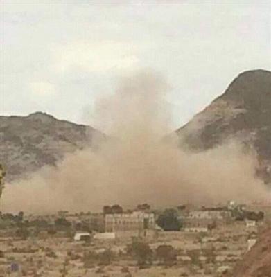 مليشيا الحوثي تقصف منازل المواطنين في قانية بالبيضاء
