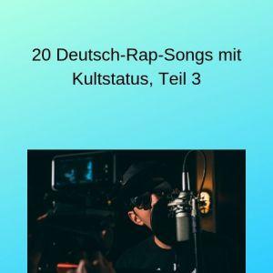 20 Deutsch-Rap-Songs mit Kultstatus, Teil 3