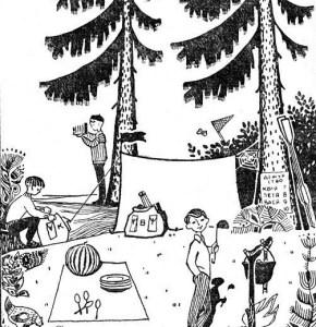 6 советских загадок на логику и внимательность в картинках