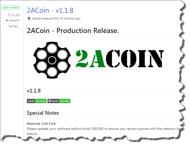 2ACoin v1.1.8