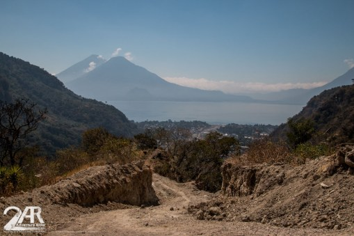 Offroad to Lake Atitlan