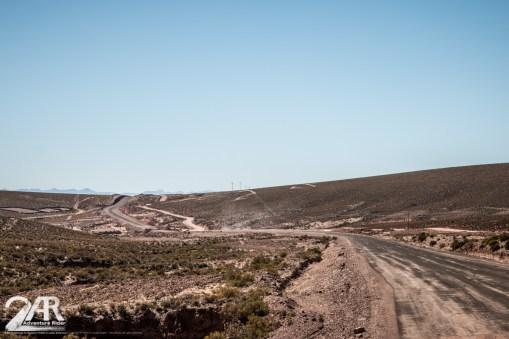 Der weg zum Salar hat es teilweise in sich