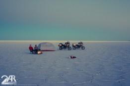 Unser Camp auf dem Salar