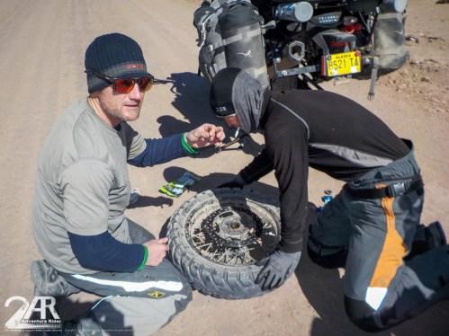 Radlager def. nach 80 km Wellblech