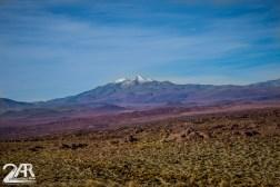 Vulkan nahe der Lagune