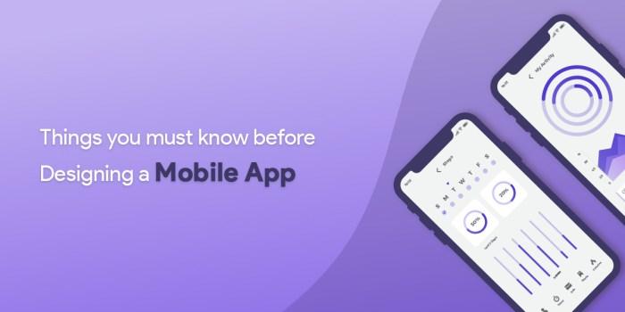 Top 3 tips for Mobile Application Design