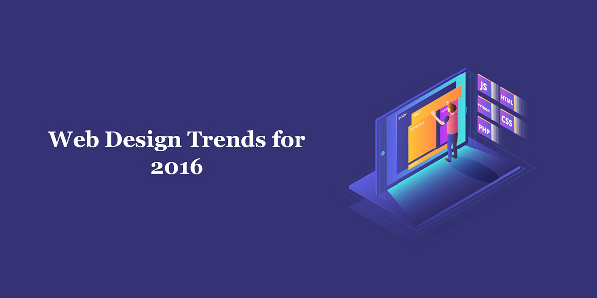 Top 5 Web Design Trends for 2016 | Website Trends