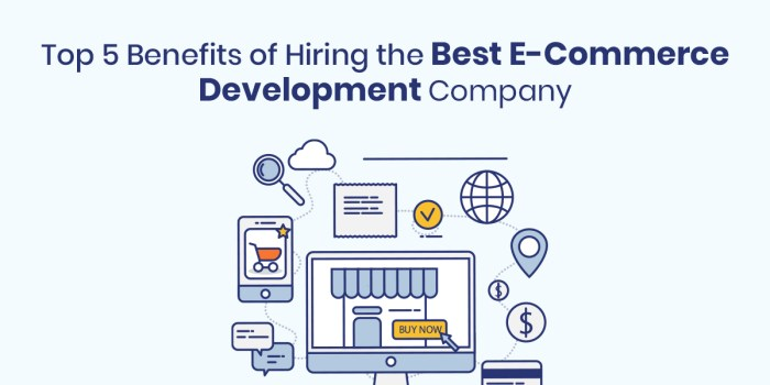 Top 5 Benefits of Hiring the Best E-Commerce Development Company India