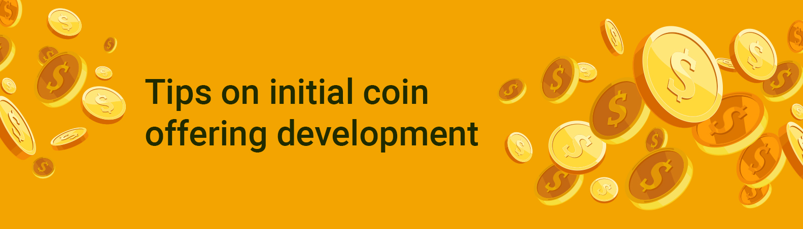 Tips on initial coin offering development