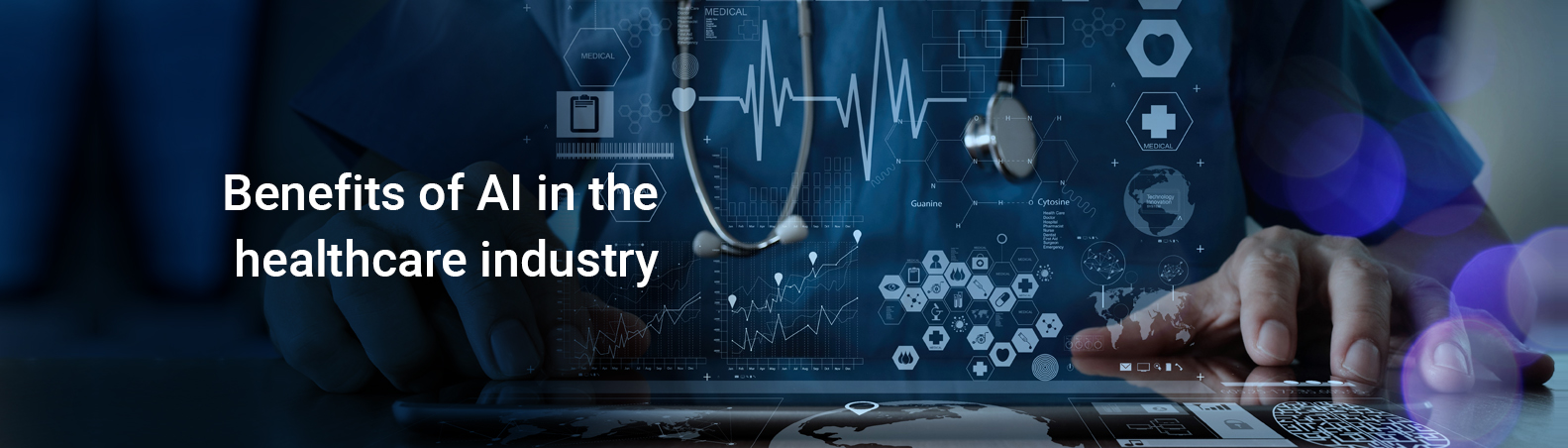 Benefits of AI in healthcare industry