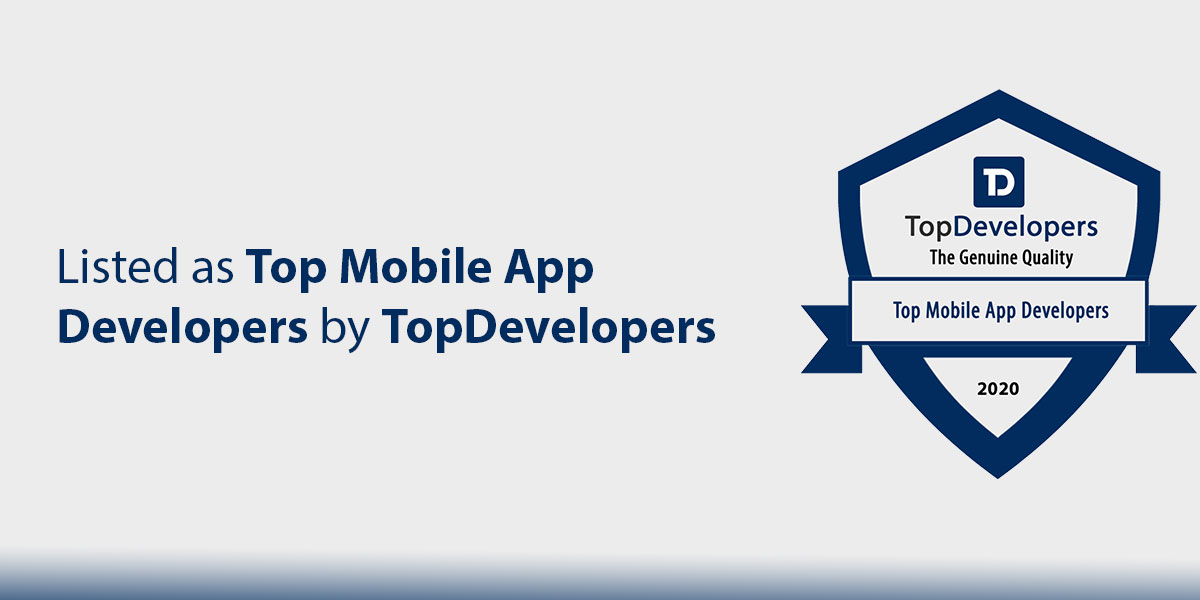 Listed as Top Mobile App Developers by TopDevelopers