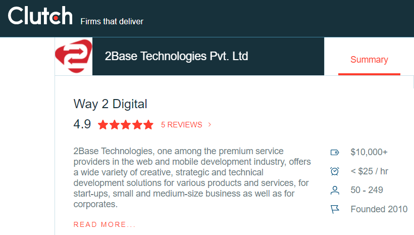 2Base Technologies Clutch Profile