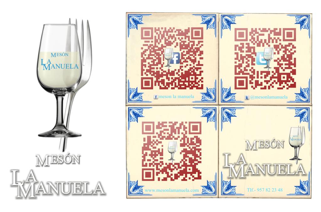 Diseño de Logotipo: Mesón La Manuela (Por 2b ingenieros - 2012)