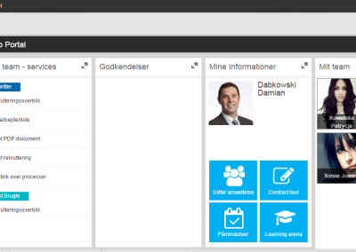 Jysk – Upgrading of global SAP Portal UI to new UX
