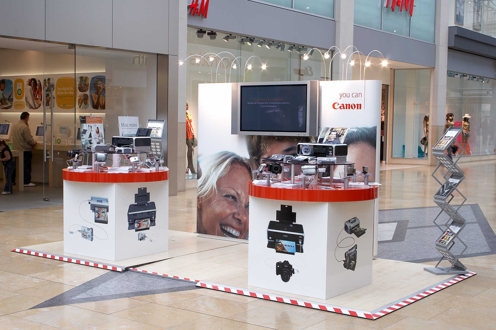 Canon roadshow event design