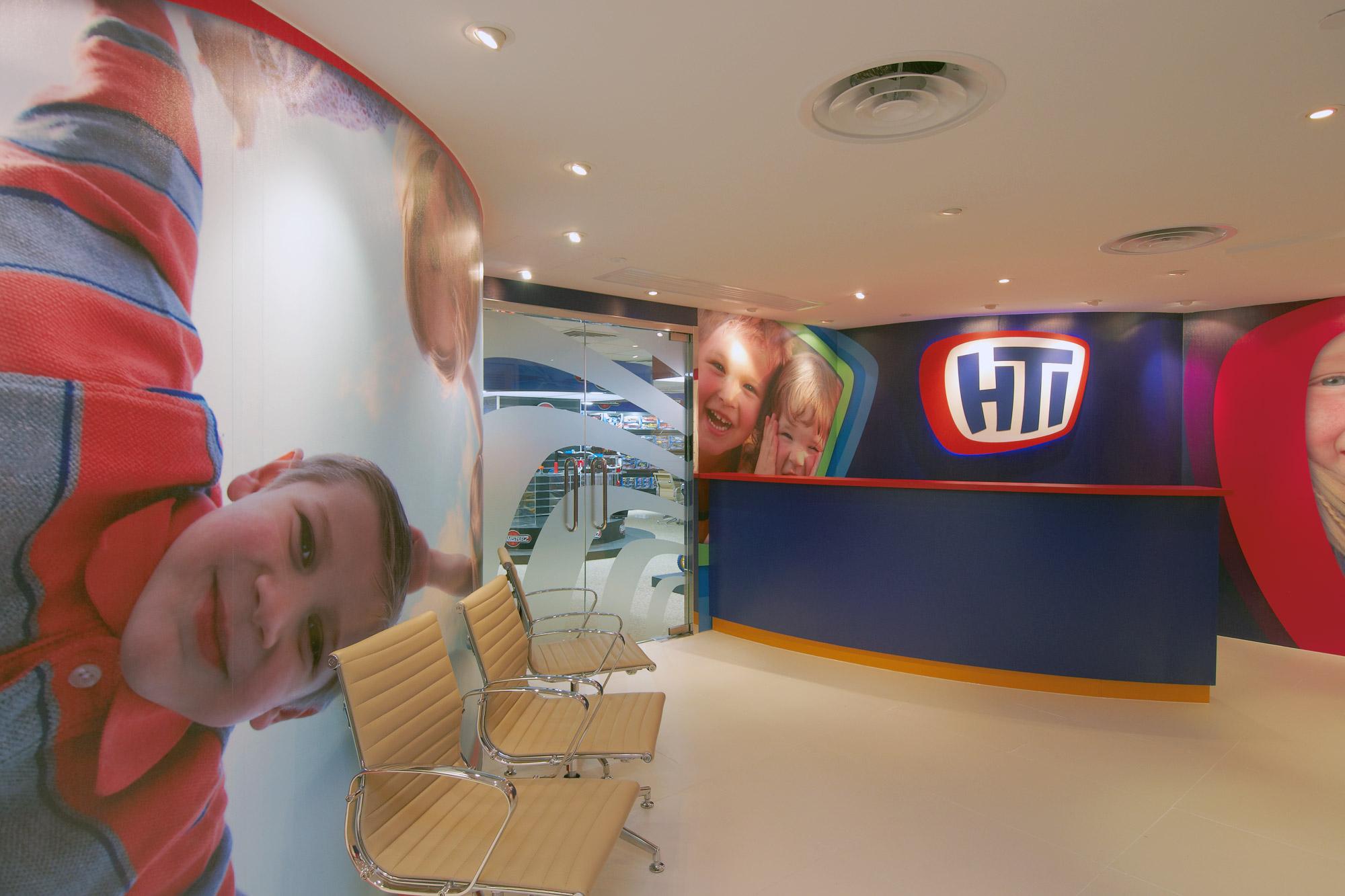 HTI Hong Kong showroom design