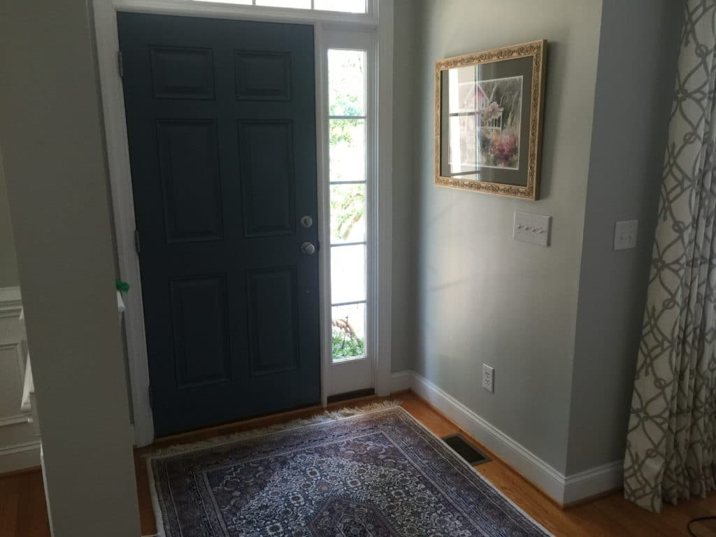 Hamilton Blue Front Door 2 Cabinet Girls