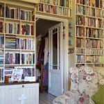 4WORD BOOKROOM_SHELVING WITH FRENCH ANTIQUE FINISH