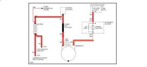1996 Chevy Astro Alternator: Wiring Diagram for Alternator