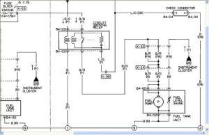 1992 Mazda B2600 Feul Pump: Electrical Problem 1992 Mazda B2600 4