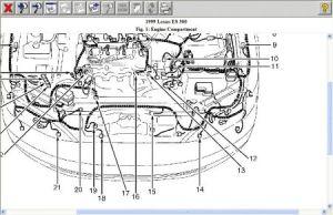 1999 Lexus ES 300 Emissions: Engine Performance Problem 1999 Lexus