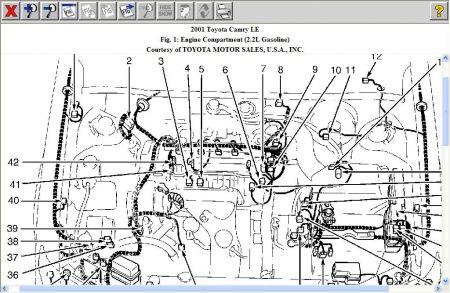 camry cylinder electrical engine diagram  95 dodge ram