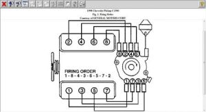 1998 GMC Sierra Wiring Diagram for Firing Orde