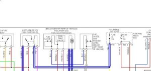 1997 Subaru Outback Fuel Pump RelayFuse: Electrical Problem 1997