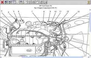 1997 Ford Taurus Sensor: Can You Send Me a Diagram of